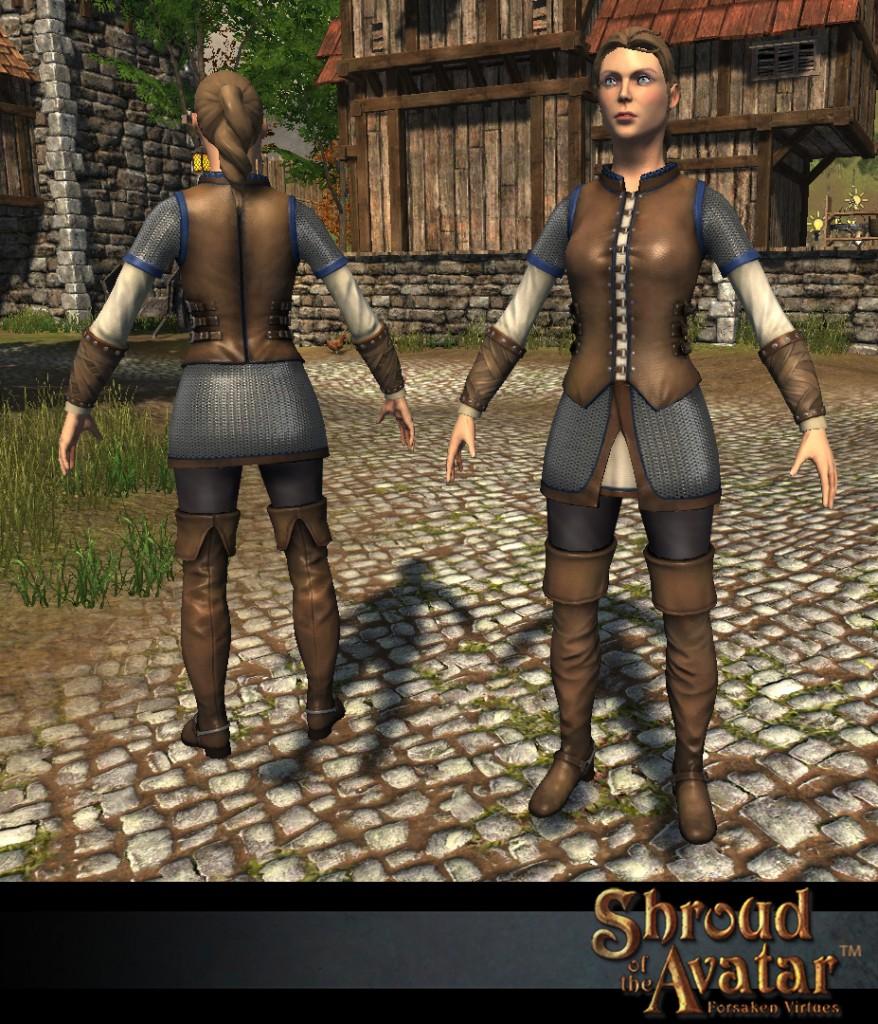 The female Avatar base model.