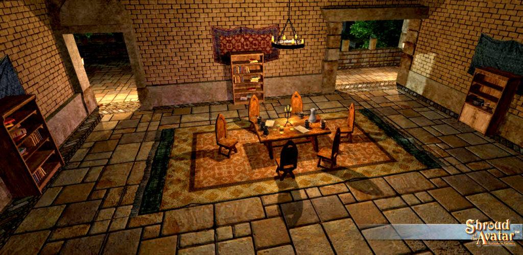 Shroud Of The Avatar Baron City Home Founder Edition