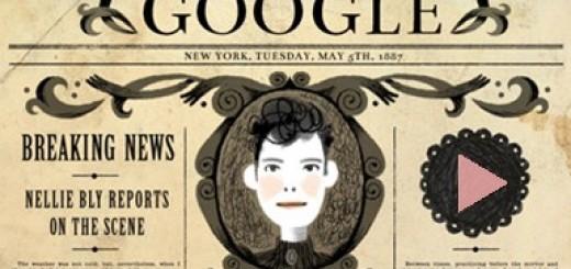 google-nellie-bly-doodle