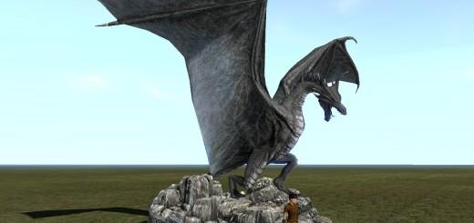 SotA_DragonStatue_village