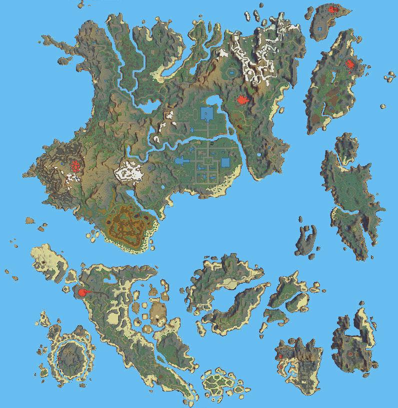 Beautiful Britannia Final World Map Rough The Ultima Codex